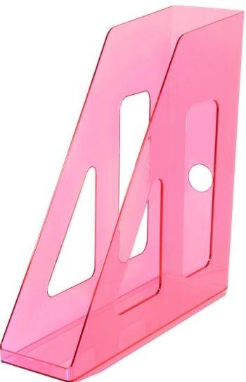 Лоток вертикальный АКТИВ розовый CARAMEL, ширина 7 см, СТАММ