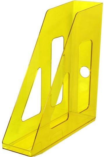 Лоток вертикальный АКТИВ желтый YELLOW, ширина 7 см, СТАММ