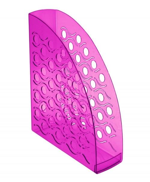 Лоток вертикальный ВЕГА тонированный фиолетовый GIACINT, ширина 9 см, СТАММ