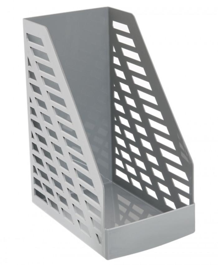 Лоток вертикальный STAMM XXL серый, ширина 16 см, СТАММ