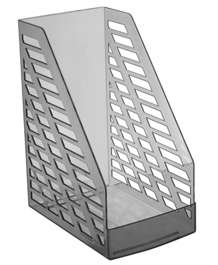 Лоток вертикальный STAMM XXL тонированный серый, ширина 16 см, СТАММ