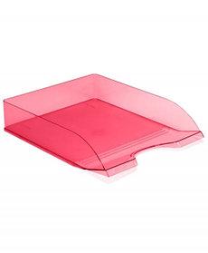 Лоток горизонтальный Дельта розовый CARAMEL