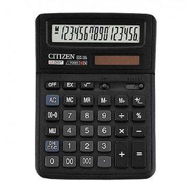 Калькулятор 16 разрядов, 14.3x19.2см, черный Citizen