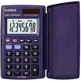 Калькулятор 8 разрядный, 62,5x104мм. CASIO