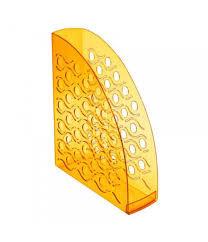 Лоток вертикальный ВЕГА тонированный оранжевый