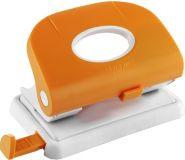 Дырокол на 2отверстия, 1-15л, пластик, оранжевый Laco