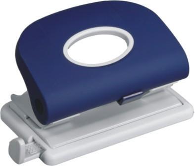 Дырокол на 2отверстия, 1-15л, пластик, синий Laco