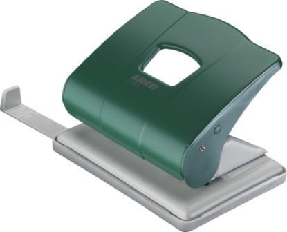 Дырокол на 2отверстия, 1-25л, металл, зеленый Laco