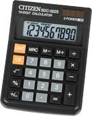 Калькулятор карманный 10 разрядов, 8.7x12см, черный Citizen