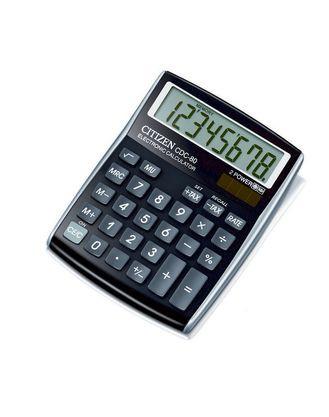 Калькулятор 8-разрядный 135x108x24мм, черный Citizen