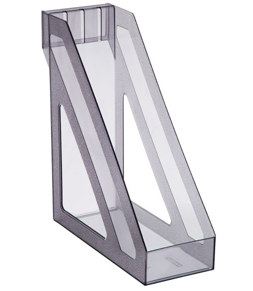 Лоток вертикальный БАЗИС тонированный серый, СТАММ