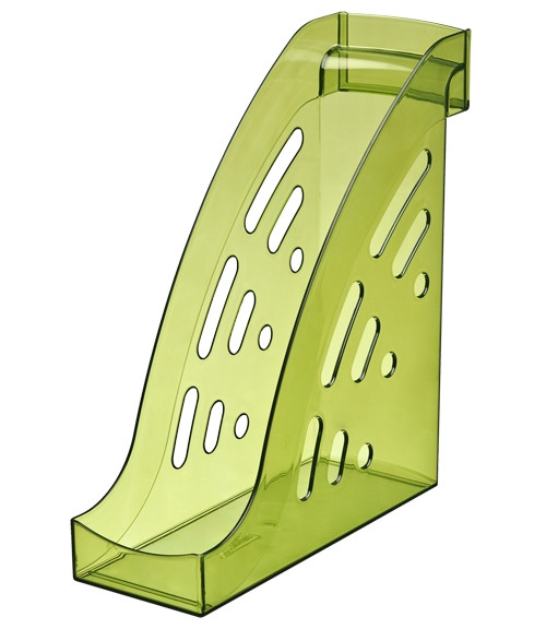 Лоток вертикальный ТОРНАДО тонированный «Лайм», СТАММ
