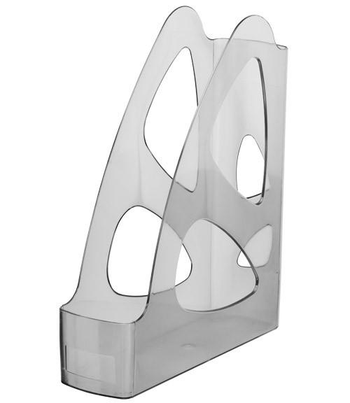 Лоток вертикальный ПАРУС тонированный серый, СТАММ