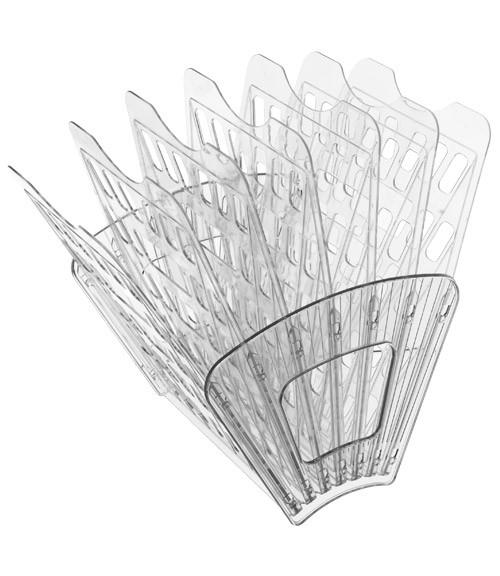 Лоток 7-ми секционный прозрачный веером, СТАММ