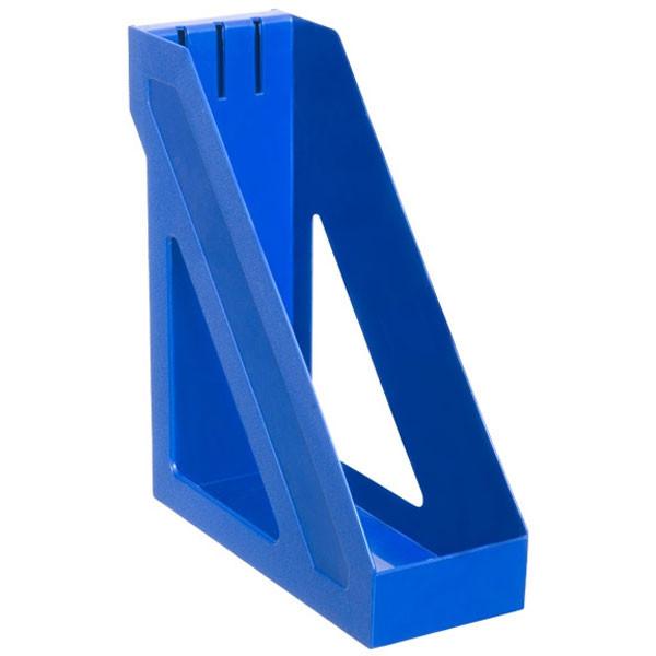 Лоток вертикальный БАЗИС синий, СТАММ
