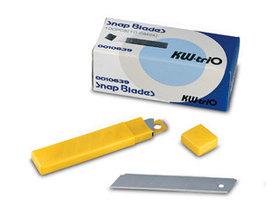 Лезвие для канц. ножа запасные 18мм, 10шт. KW-trio