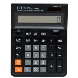 Калькулятор 12 разрядов, 15.3x19.9см, черный Citizen