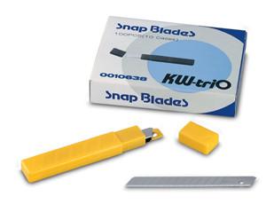 Лезвие для канц. ножа запасные №3563 10шт. KW-trio