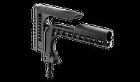 Fab defense Универсальный снайперский приклад FAB-Defense SSR-25 для AR15/M16/SR25 с регулируемым упором