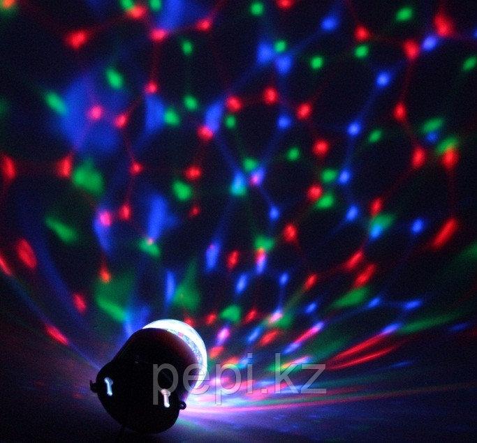 Световой прибор хрустальный шар диаметр 7,5 см