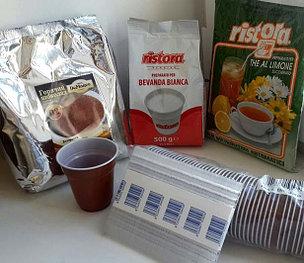 Ингредиенты и расходные материалы для кофейных автоматов