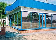 Металлопластиковые будки (пластиковые, ПВХ)