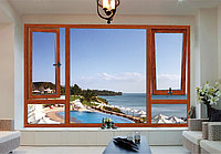 Ламинированные окна ПВХ - Цвет: Орех (металлопластиковые, пластиковые окна), фото 1