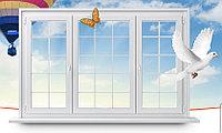 Окна из ПВХ с декоративной раскладкой (металлопластиковые, пластиковые окна), фото 1