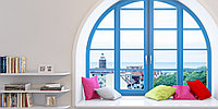 Арочные окна (металлопластиковые, пластиковые, ПВХ), фото 1