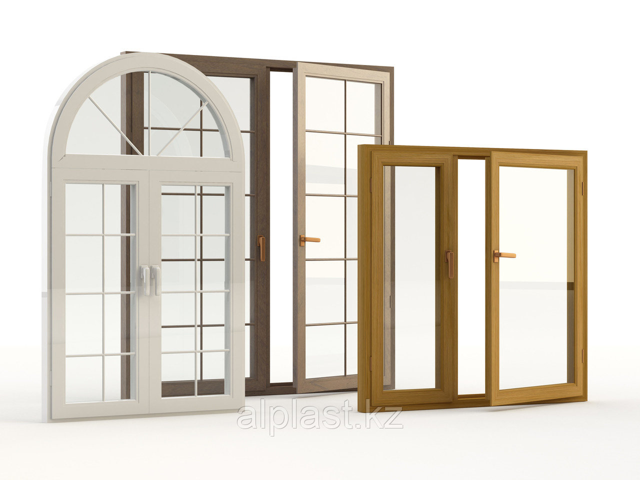 Арочные окна (металлопластиковые, пластиковые, ПВХ) - фото 2