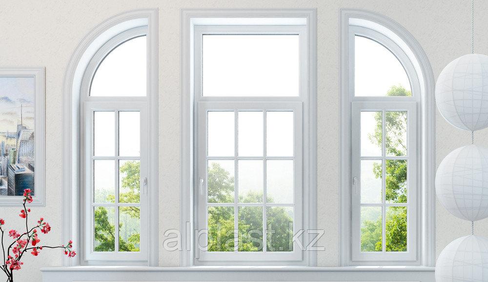 Косоугольные окна (трапецевидные, треугольные) (металлопластиковые, пластиковые, окна ПВХ)