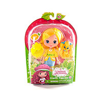 Strawberry Shortcake/Шарлотта Земляничка Кукла 15 см с питомцем, Лимона