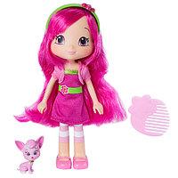 Strawberry Shortcake/Шарлотта Земляничка Кукла Малинка с питомцем 15 см