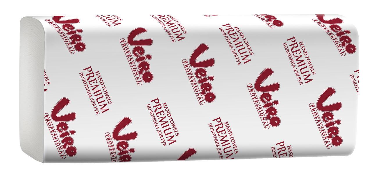 Полотенца для рук V сложения, - 22*10,5 см., 200 л., Veiro Professional Premium