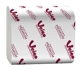 Туалетная бумага V-сложение Veiro Professional Premium 250 метров, Размер листа (Ш*Д):210*108 мм.