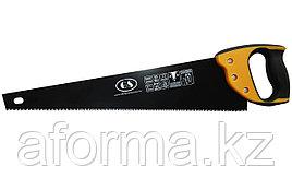 Ножовка по дереву GS Стандарт 18 черный, длина 450 мм