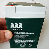 Aккумулятор TLD 6v 5Ah 20Hr для детских машин,фонарей