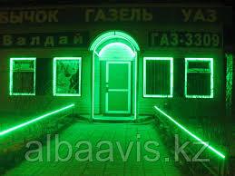 Подсветка окон, подсветка окна, освещение окон, декоративная подсветка окон