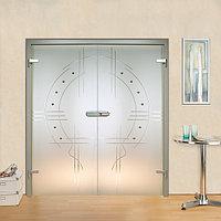 Цельностеклянные двери (стеклянные двери)