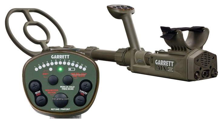 Грунтовый металлоискатель GARRETT ATX 10*12 DD
