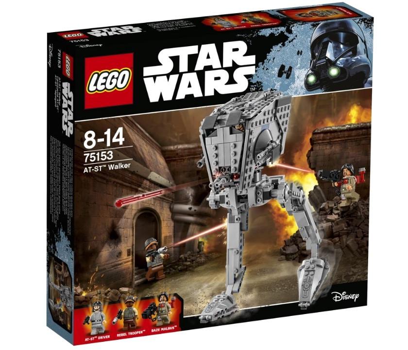 75153 Lego Star Wars Разведывательный транспортный шагоход AT-ST, Лего Звездные войны