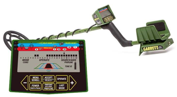 Грунтовый металлоискатель GARRETT GTP 1350
