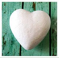 Пенопластовое сердечко, 8 см.