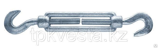 Талреп оцинкованный М16х225 Крюк-крюк DIN 1480