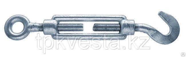 Талреп оцинкованный М22х305 Крюк - Кольцо DIN 1480
