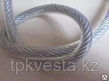 Трос стальной DIN 3055 в ПВХ оплетке