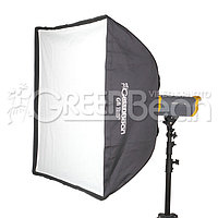 GreenBean GB Gfi 3x3` (90x90 cm) Софтбокс квадратный Bowens, фото 1