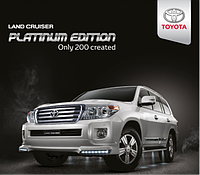"Обвес ""Platinum Edition"" (пластик) для Toyota Land Cruiser 200 12-15г., фото 1"