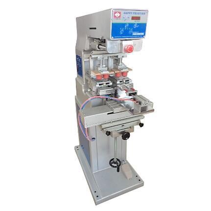 Тампопечатный станок на 2 цвета (закрытого типа) Оборудование для тампопечати. Тампонный станок TM-P2S