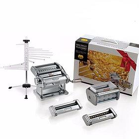 Marcato Multipast Tacapasta набор 6 видов пасты (лапшерезка-раскатка для теста, спагетти, реджинетти, равиоли)